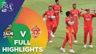 Full Highlights | Islamabad United vs Peshawar Zalmi | Match 26 | HBL PSL 6 | MG2T