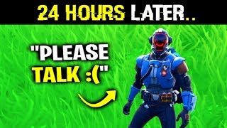 Ignoring My BEST Friend For 24 Hours.. (Fortnite)