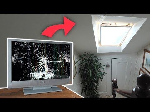 Turning Smashed TVs into Realistic Artificial Daylight
