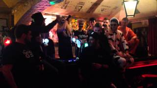 Video MC Lynchy @ The Holy Cow : Bump & Grind 2014 Freestyle