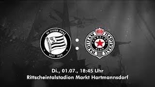 preview picture of video 'Spielaufzeichnung: SK Sturm Graz 0:1 FK Partizan Belgrad (0:0)'