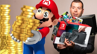 Uh Oh, I'm Spending $700 on the Nintendo Switch Launch - Up At Noon Live!