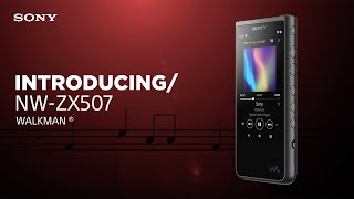 YouTube Video 8JtPJiLJKVo for Product Sony NW-ZX500 Series Walkman (NW-ZX507) by Company Sony Electronics in Industry Smartphones