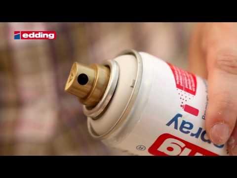 """45200- Edding Permanent Spray - Tutorial """"Terrakottatöpfe gestalten"""""""