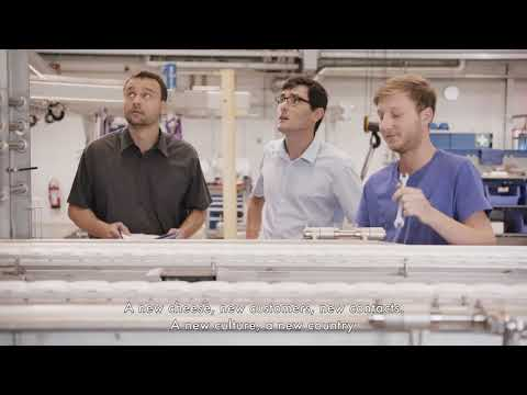 Alpma YouTube video1 equipment for cheese processing
