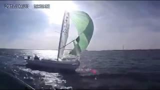 """""""Beau temps belle mer hier après-midi en rade de Brest !!!"""