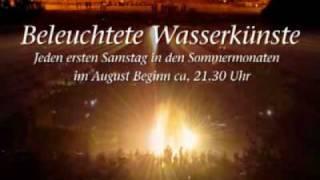 preview picture of video 'Beleuchtete Wasserkünste in Kassel-Wilhelmshöhe'