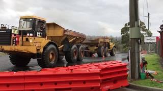 Richardson's H-D Truck Pull Cat vs Volvo