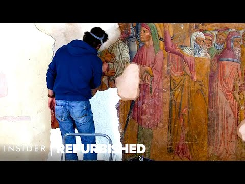 The Incredible Discovery and Restoration of a Lost Fresco