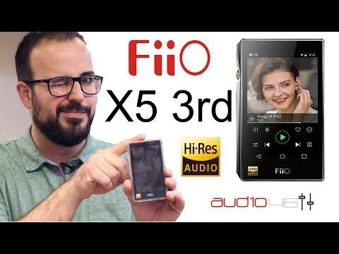 Nuevo Fiio X5 tercera generación. Reproductor de audio.