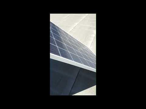 Тестирование солнечного модуля Энерговольт ЭВ-330П