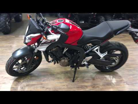 2018 Honda CB650F in Murrieta, California
