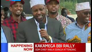 North Eastern leaders give their sentiments on BBI  | KAKAMEGA BBI RALLY