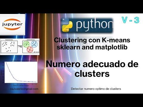 V3: Numero Adecuado de Clusters K-Means | Elbow method | Python | mineria de datos | Silhoutte