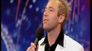 BGT- Craig Harper, 1st audition, impressionist, Boyzone
