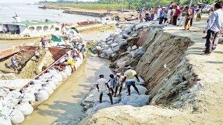 ঝুঁকিপূর্ণ খুলনার উপকূলের বাঁধ, জনমনে আতঙ্ক | Khulna News Update | Somoy TV