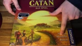 Kosmos - Catan - Das Spiel, neue Edition unboxing