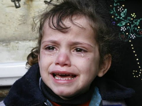 Where will we live?: Palestinian girl weeps as Israel razes her home
