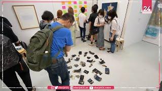 معرض فني في طوكيو ... يجيز للزوار سرقة  الأعمال