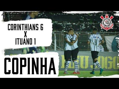 Copinha | Corinthians 6x1 Ituano-SP