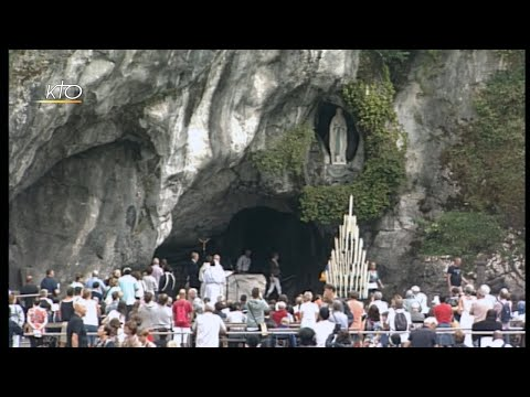 Chapelet à Lourdes du 5 août 2019