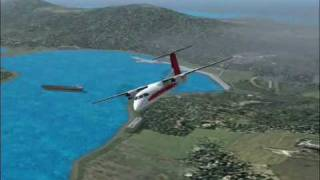 preview picture of video 'Flight Simulator 2004 stt to stx movie 0001'