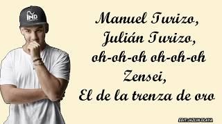 CNCO, Manuel Turizo   Pegao(LyricsLetra)