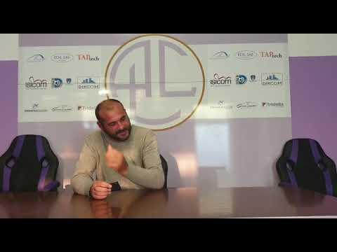 La sala stampa di Legnano – Saluzzo 2-2 (calcio serie D)
