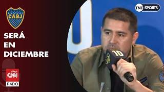Juan Román Riquelme anunció su partido de despedida