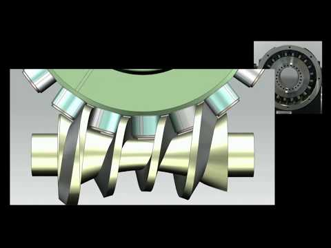 T-200 Roller Gear Cam animation