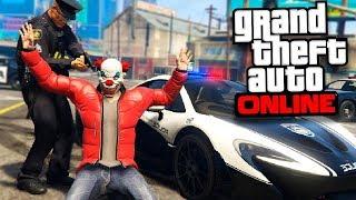 POLICIAS vs LADRONES en GTA 5 ONLINE