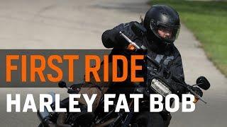 Harley-Davidson Fat Bob First Ride Review At RevZilla.com