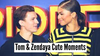 Tom Holland & <b>Zendaya</b>  Cute Moments