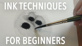 Ink Drawing Techniques For Beginners