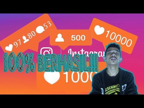 Video CARA MENDAPATKAN BANYAK FOLLOWERS TANPA FOLLOWING 100% BERHASIL!!!