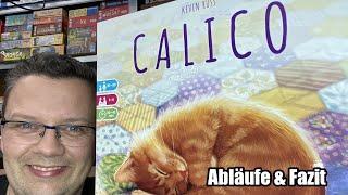 Calico (Ravensburger) Familienspiel mit Katzen ab 10 Jahren - auch für Jüngere! Nachfolger von Azul?