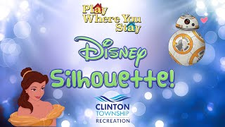 Play Where You Stay: Disney Silhouette
