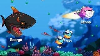 СЪЕШЬ МЕНЯ! андроид игра EATME.IO похожая на АГАРИО Видео для детей DarRidi Gamer