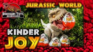 JURASSIC WORLD Kinder JOY 2021 Ferrero Eier / Dinosaurier Überraschungs-Ei [Deutsch/German]