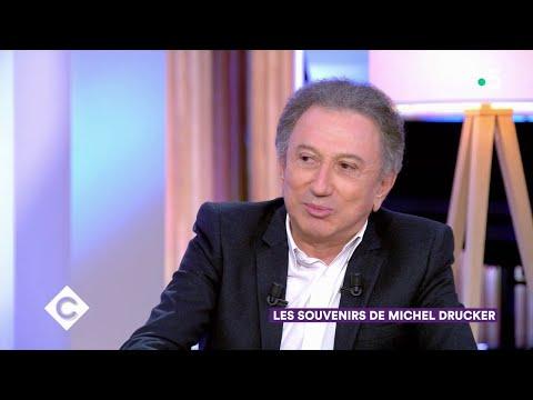 Les souvenirs de Michel Drucker - C à Vous - 22/11/2019