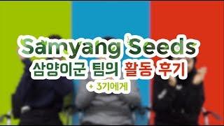 삼양그룹 삼양씨즈 2기 활동 후기 + 3기 지원팁