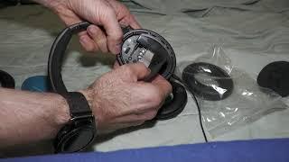 Bose Quietcomfort 35, Ohrpolster austauschen, kaputte Polster am Kopfhörer tauschen