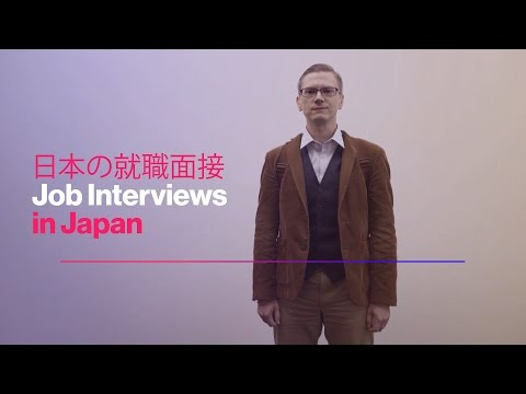 Job Interviews in Japan Are an Etiquette Minefield