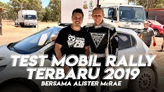 TESTING AP4 & R5 RALLY CAR - PERTH