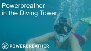 IN THE DIVING TOWER
