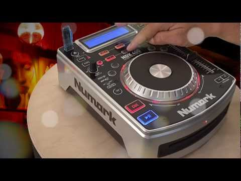 Numark NDX 400 Tabletop USB / MP3 / CD Player