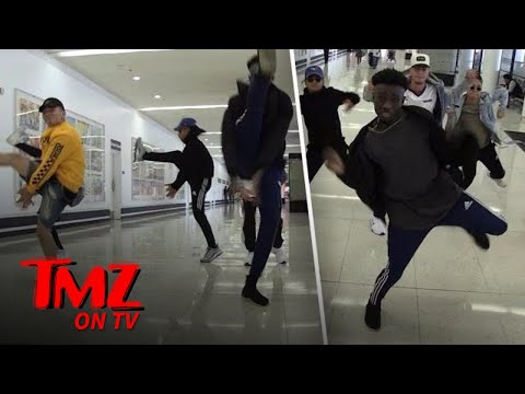Reverb Dance Crew Puts On A Show For Us | TMZ TV