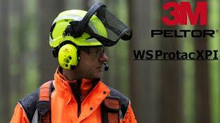 3M Peltor WS Protac XPI | Bluetooth-Gehörschutz-Headset für laute Arbeitsbereiche
