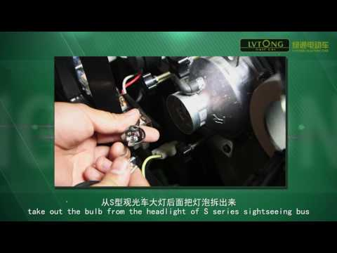 Hướng dẫn thay thế đèn chiếu sáng ô tô điện LVTONG