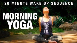 Morning Yoga - 20 Min Wake Up Sequence - Five Parks Yoga